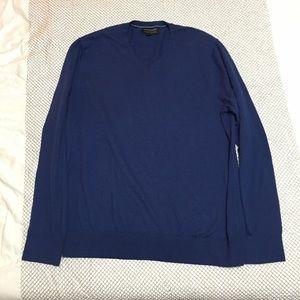 Blue Banana Republic V-neck Sweater